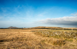 Emblance Downs on Bodmin Moor Royalty Free Stock Photography