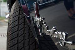 Embleem convertibel Ford Mustang Royalty-vrije Stock Foto