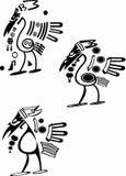 Embleem in de vorm van een vogel Stock Afbeeldingen