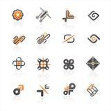 embleem pictogram Stock Afbeeldingen