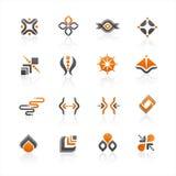 embleem pictogram Royalty-vrije Stock Foto