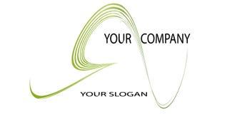 Embleem of slogan Stock Fotografie