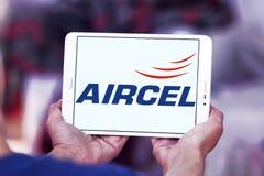 Embleem van de Aircel het mobiele exploitant Stock Fotografie