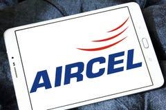 Embleem van de Aircel het mobiele exploitant Royalty-vrije Stock Foto