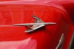 Embleem van de vliegtuig retro uitstekende auto Royalty-vrije Stock Foto