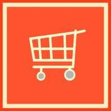 Embleem van een supermarkt stock illustratie