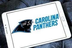 Embleem van het de voetbalteam van Carolina Panthers het Amerikaanse Royalty-vrije Stock Afbeelding