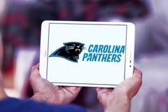 Embleem van het de voetbalteam van Carolina Panthers het Amerikaanse Stock Fotografie