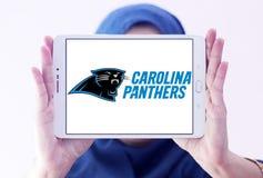 Embleem van het de voetbalteam van Carolina Panthers het Amerikaanse Royalty-vrije Stock Foto