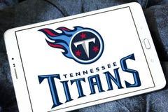 Embleem van het de voetbalteam van Tennessee Titans het Amerikaanse Stock Afbeelding