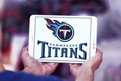 Embleem van het de voetbalteam van Tennessee Titans het Amerikaanse Stock Foto's