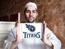 Embleem van het de voetbalteam van Tennessee Titans het Amerikaanse Stock Afbeeldingen
