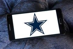Embleem van het de voetbalteam van Dallas Cowboys het Amerikaanse royalty-vrije stock afbeeldingen