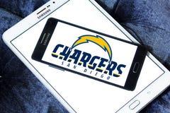Embleem van het de voetbalteam van San Diego Chargers het Amerikaanse Stock Afbeeldingen