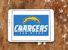 Embleem van het de voetbalteam van San Diego Chargers het Amerikaanse Royalty-vrije Stock Fotografie