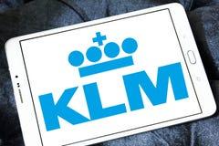 Embleem van Klm het koninklijke Nederlandse luchtvaartlijnen Royalty-vrije Stock Afbeelding