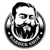 Embleem voor de kapper Stock Afbeelding