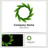 Embleemontwerp, adreskaartjemalplaatje Stock Afbeelding