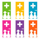Embleemontwerp voor veterinair Stock Fotografie