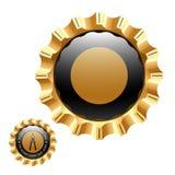 Emblem. Vector illustration. Insert your information Royalty Free Stock Images