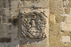 Emblem acaya König lecce Lizenzfreies Stockbild