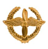 Emblem of the Air Forces Stock Photography