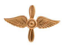 Emblem of the Air Forces Stock Photo