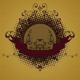 Emblem, Auslegungelement Lizenzfreie Stockbilder