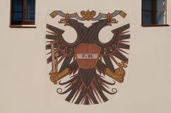 Emblem av Österrike royaltyfri foto