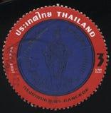 Emblem av Bangkok fotografering för bildbyråer