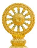 Emblem av buddism royaltyfri bild