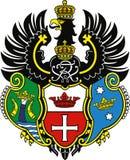 Emblem av Konigsberg Arkivfoton