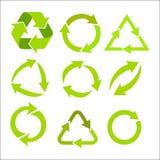 Emblem av organiska produkter vektor illustrationer