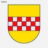 Emblem av staden av Tyskland royaltyfri illustrationer