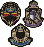 Emblem badge design Royalty Free Stock Photos