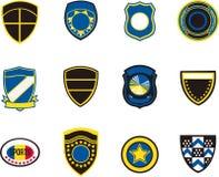 Emblem badges Stock Photos