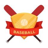 Emblem. Baseball single icon in cartoon style vector symbol stock illustration web. Stock Photos