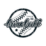 Emblem of baseball team Stock Photo