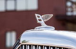 Emblem of Bentley car Stock Image