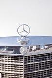 Emblem of car Mercedes-benz Stock Photography
