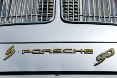 The emblem of the car the Porsche 356 S90 Royalty Free Stock Photography