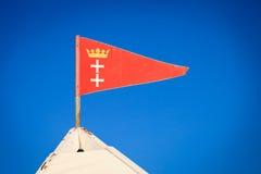 Emblem city of Gdansk Danzig Poland Europe Royalty Free Stock Image