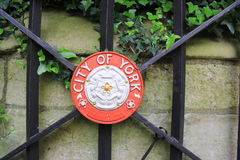 The emblem of the City of York Stock Photography