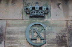 Emblem in Copenhagen Royalty Free Stock Image
