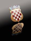 Emblem of Croatia Stock Image