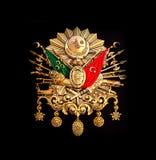 Emblem des Osmanischen Reichs u. x28; Altes türkisches Symbol u. x29; lizenzfreies stockfoto