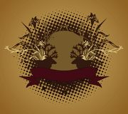 Emblem, design element Royalty Free Stock Photos