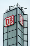 Emblem of Deutsche Bahn (German Railway) Royalty Free Stock Photography