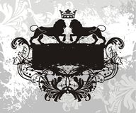 Emblem element Royalty Free Stock Images