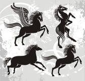 Emblem elements Royalty Free Stock Images